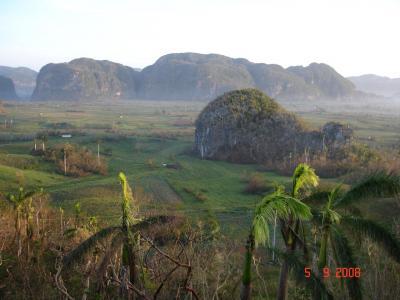 El Valle de Viñales se repondrá de sus heridas