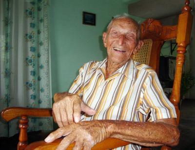 La felicidad de vivir 110 años