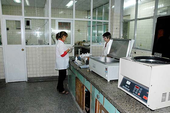 El laboratorio renació como ave Fénix e indudablemente la mejoría es notable